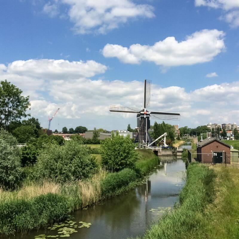 Mooie molen in Leerdam