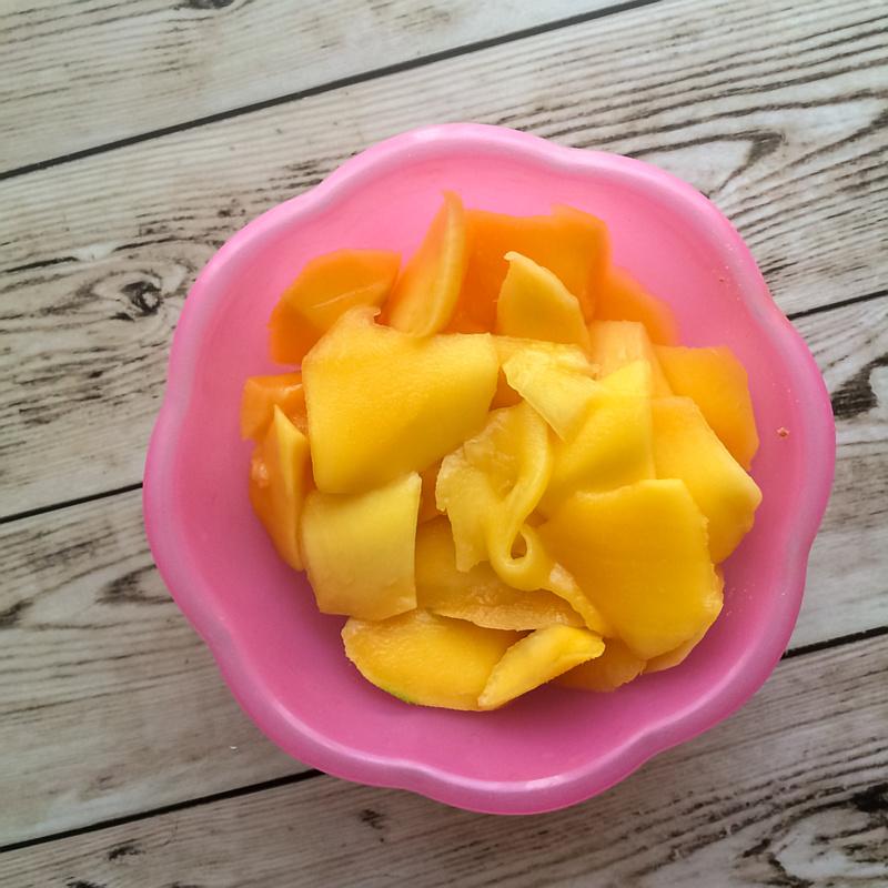 Mango stukjes