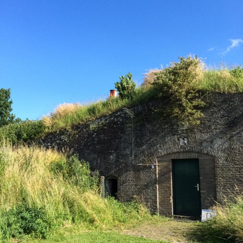 Leuke poortjes bij Fort Altena