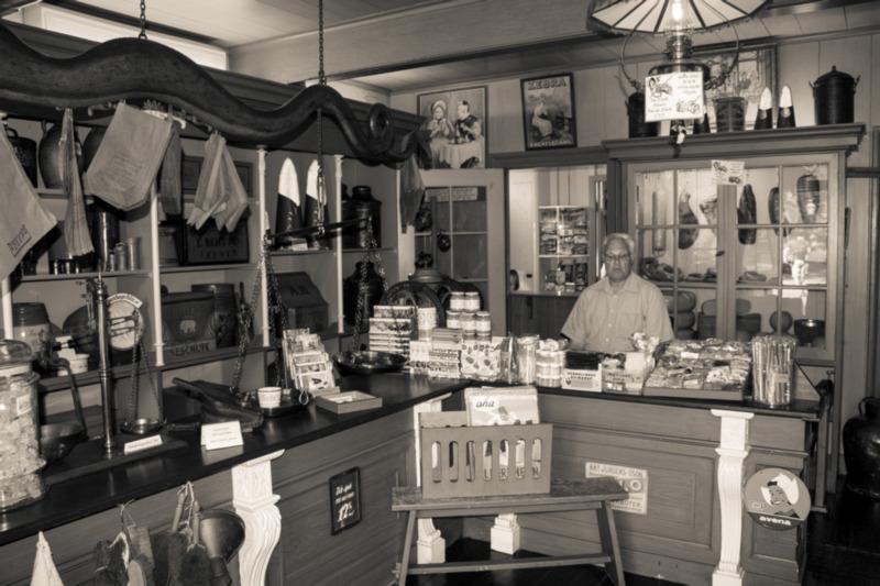 Eerste Albert Heijn winkel
