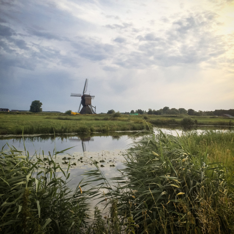 Molen in Uppel