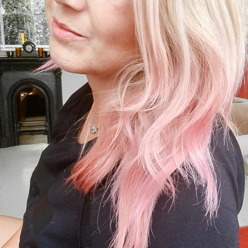 Still loving my pink hair!