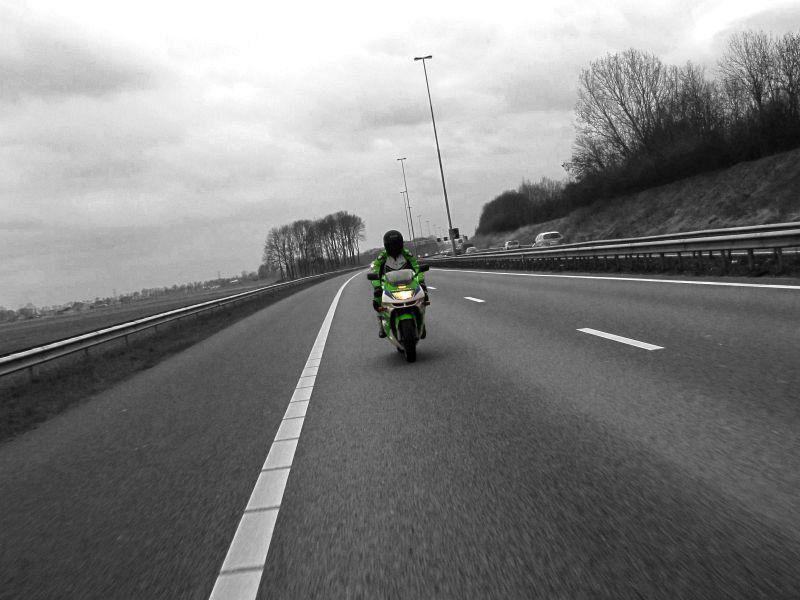 Motorrit naar Tholen (13-3-2011)