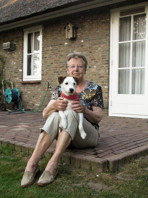 Oma en Bas (25-4-2011)