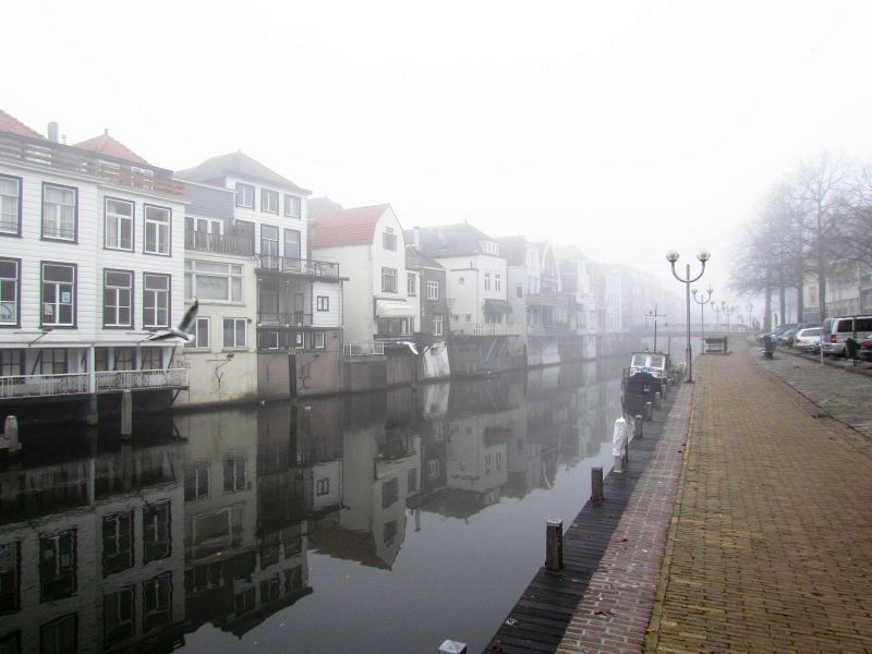 Mist in de Lingehaven (21-11-2011)