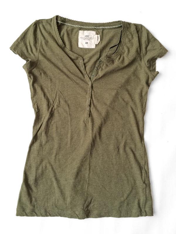 Legergroen H&M shirt