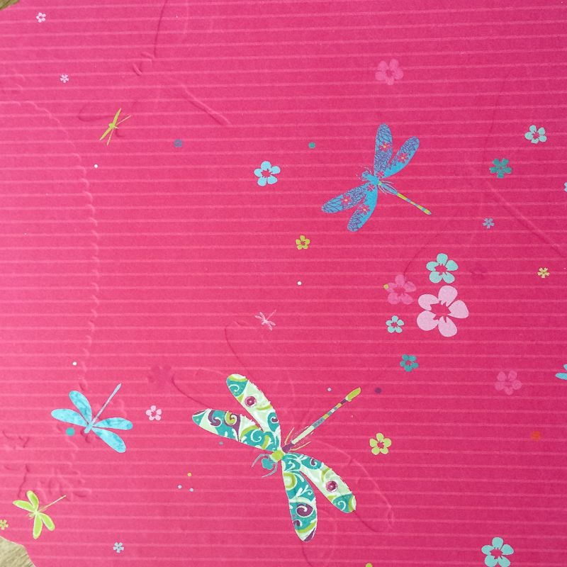 Libelles op een kaart