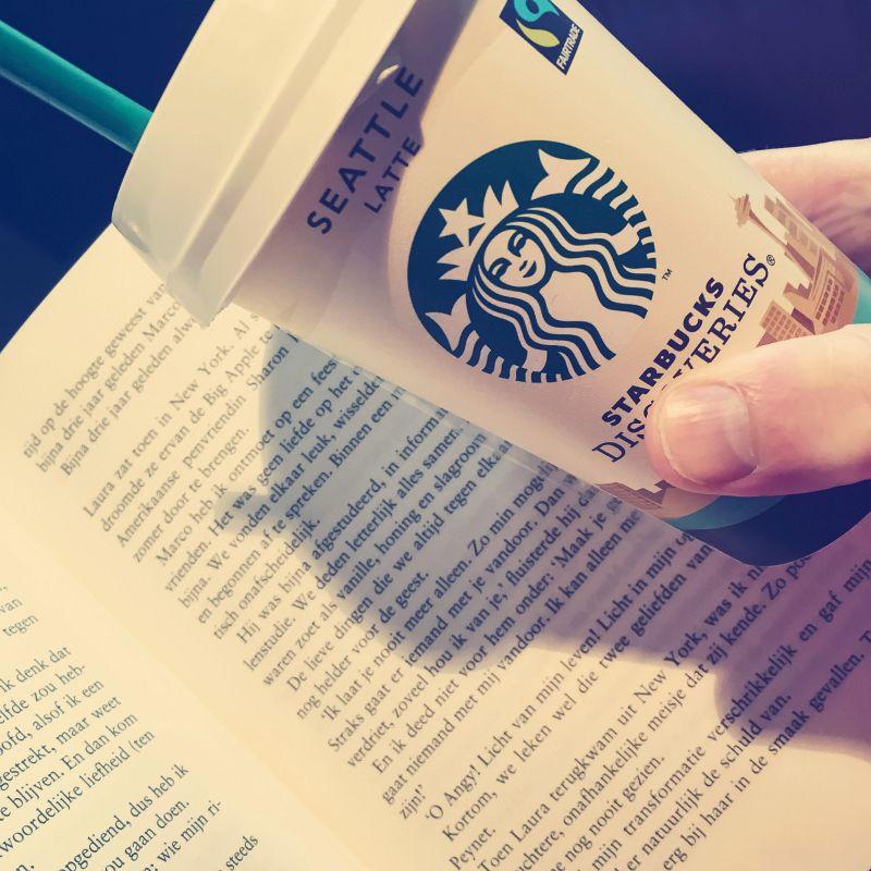 Koffie en een boek