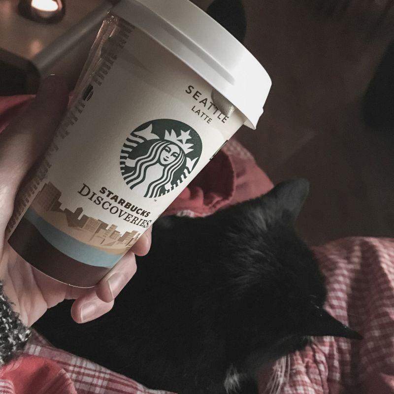 Koffie & kat