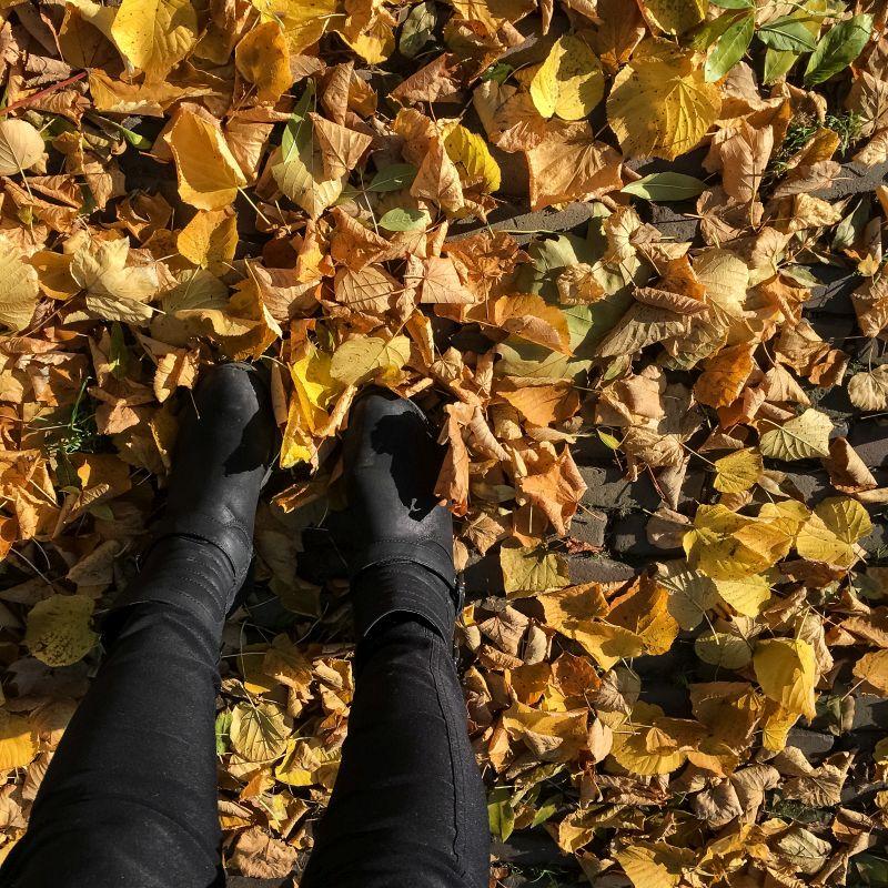 Voetjes in de herfst!