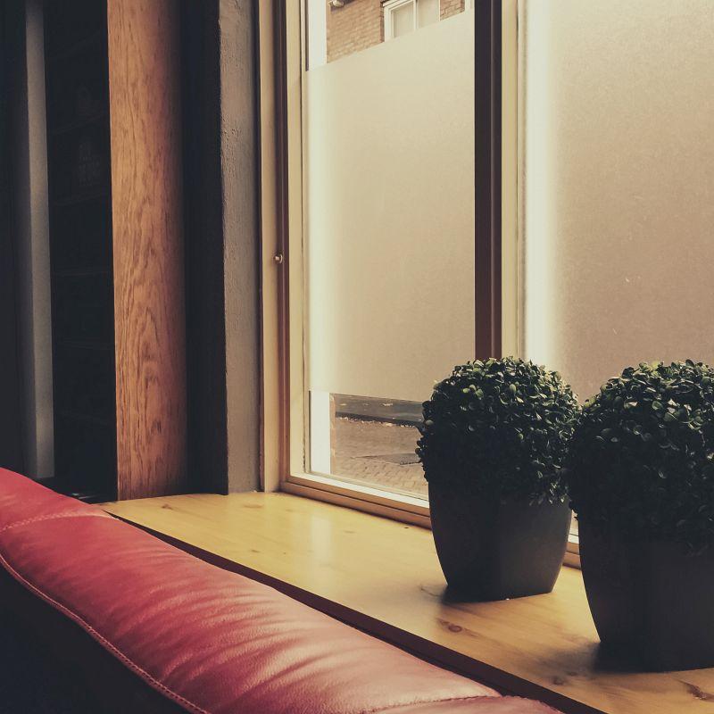 Gewoon de vensterbank