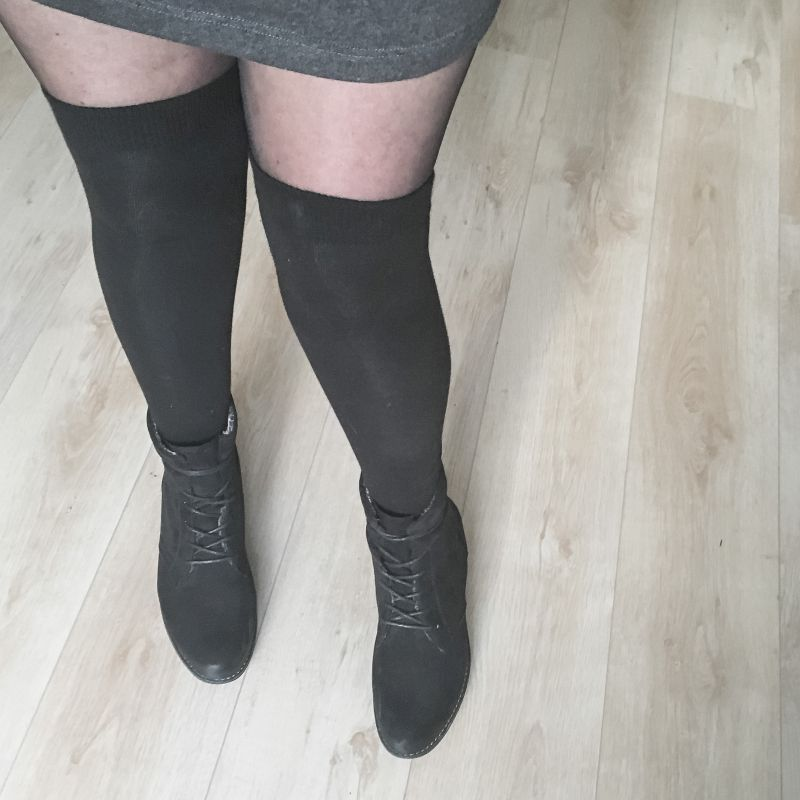 Overknee sokken