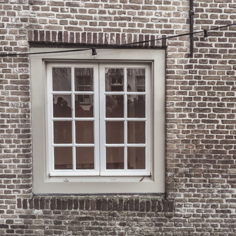 Een oud raam