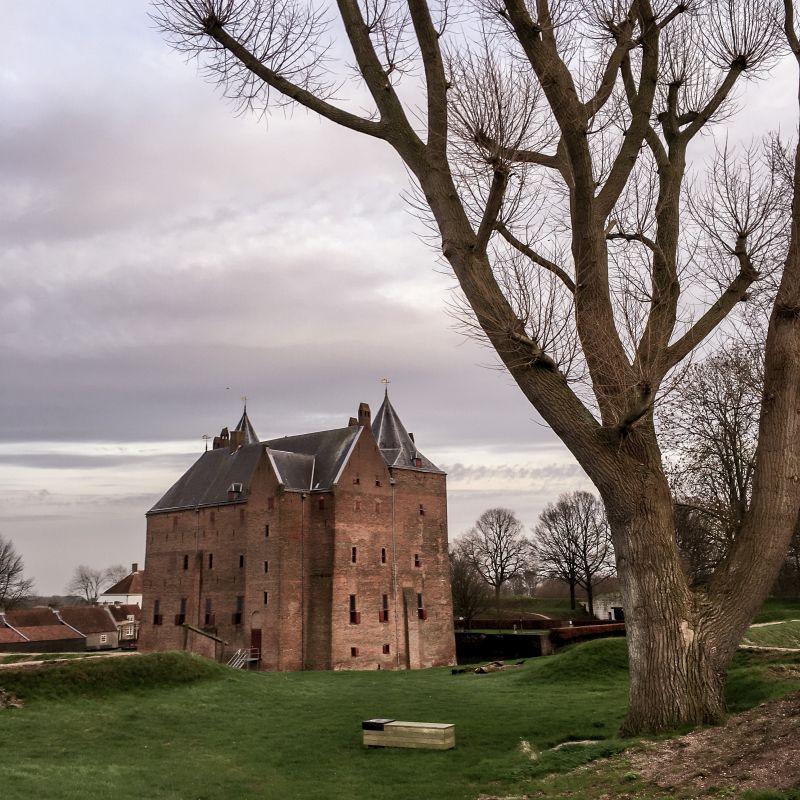 Het kasteel in al z'n glorie
