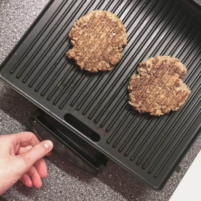 Grillburgers maken