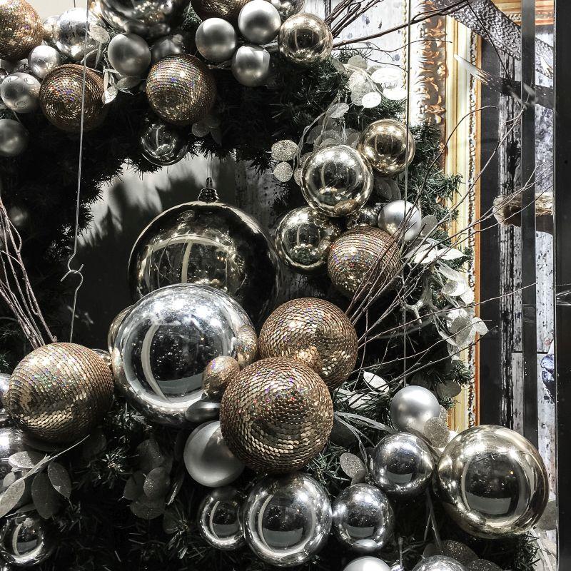 Mooie kerst-etalage