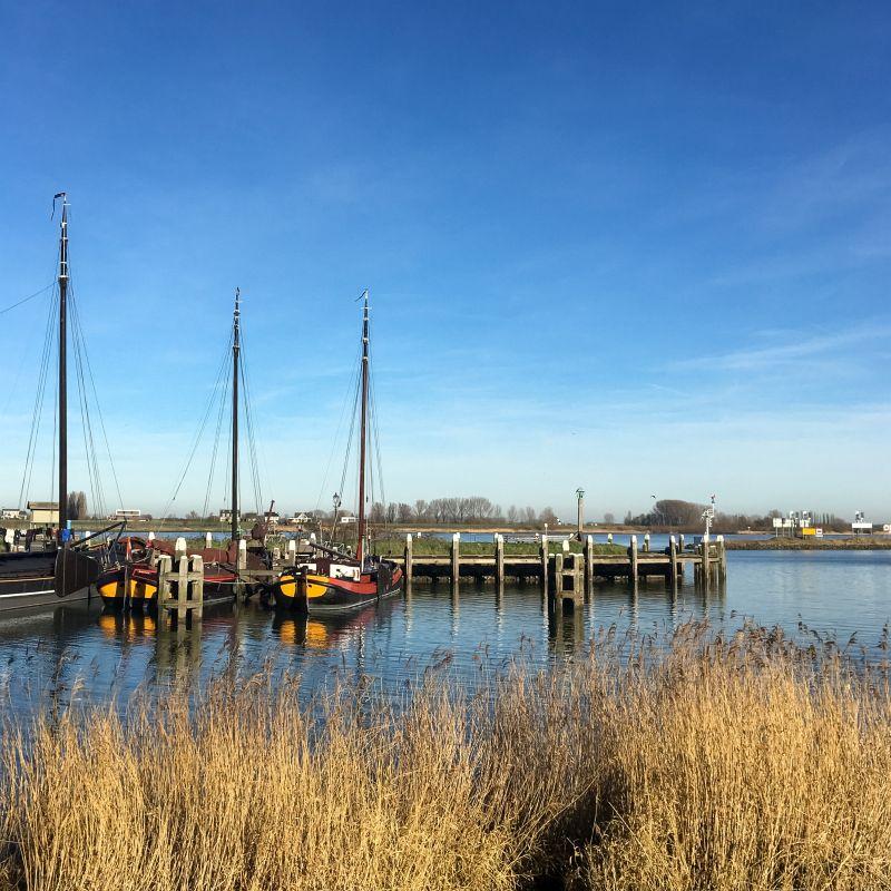 Historische haven Woudrichem
