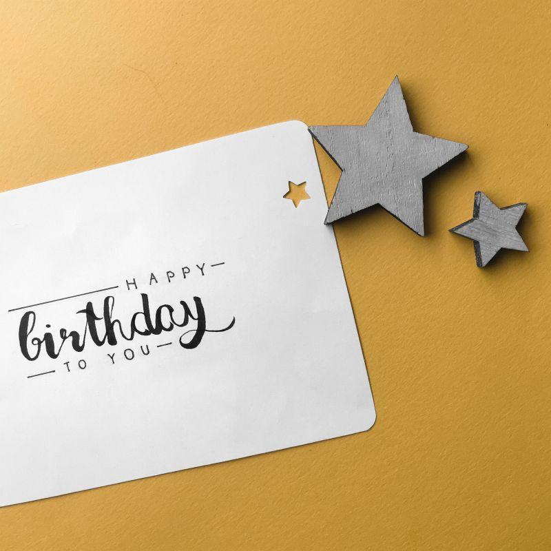 Nog meer verjaardags-lettering