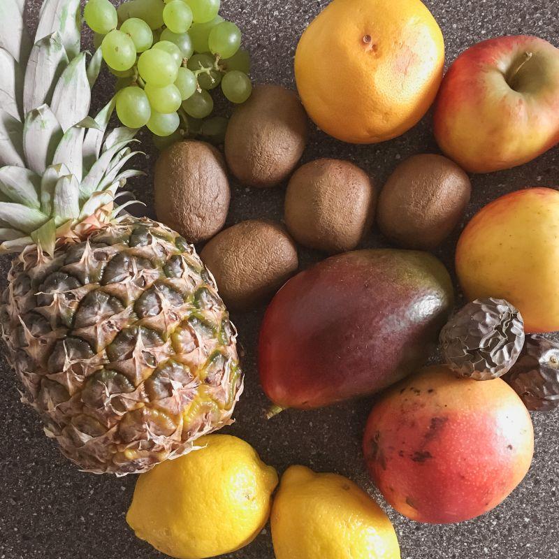 Voorraadje fruit