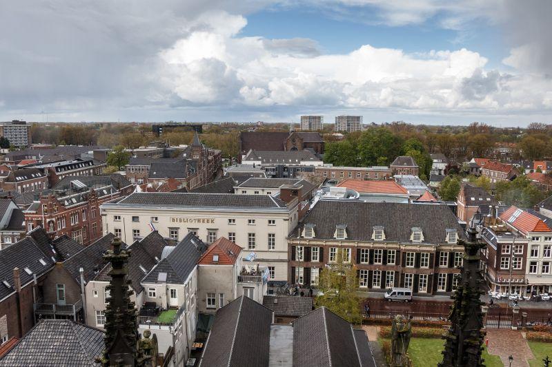 Uitzicht over Den Bosch