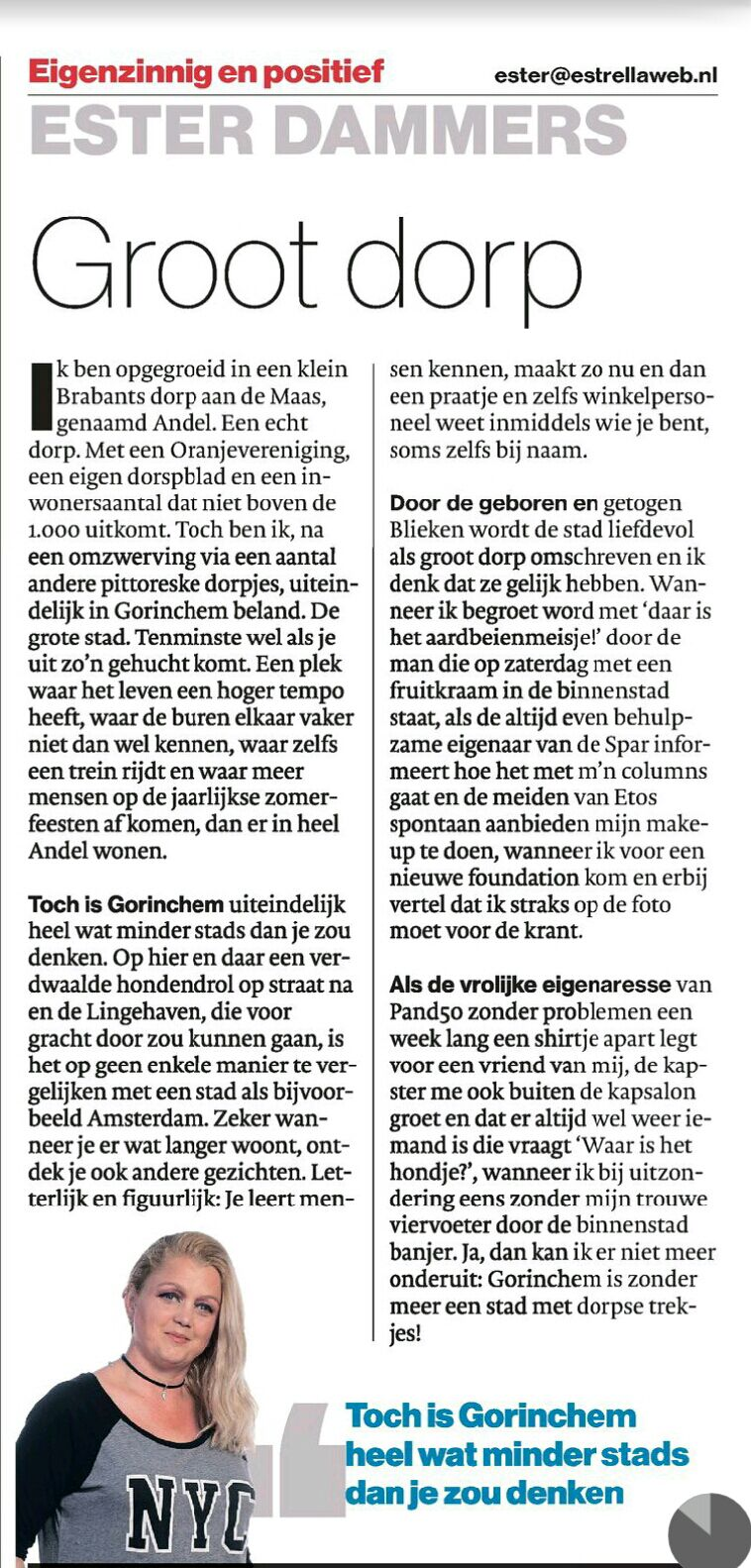 "Column 11-05-216 ""Groot dorp"""
