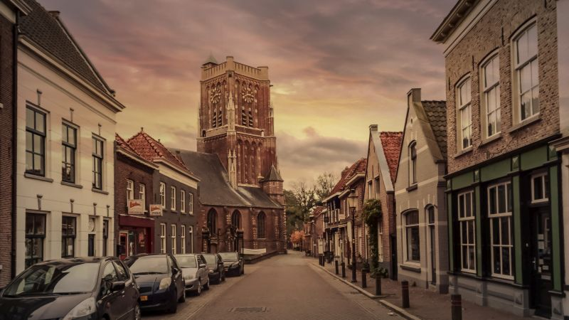 Woudrichem in HDR