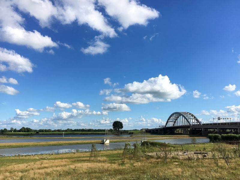 Oude Lekbrug bij Vianen
