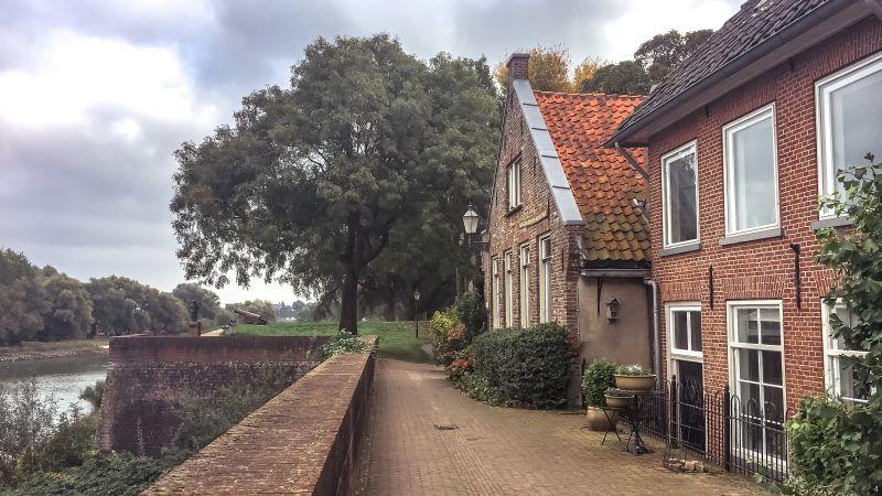 Rijkswal in Woudrichem