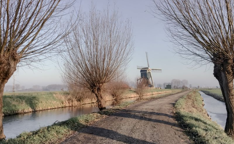 Fietstocht over Noordeloos