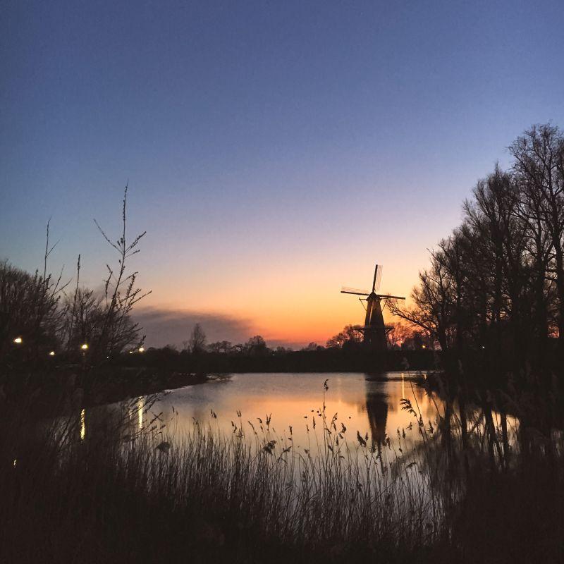 Mooie avond in Woudrichem