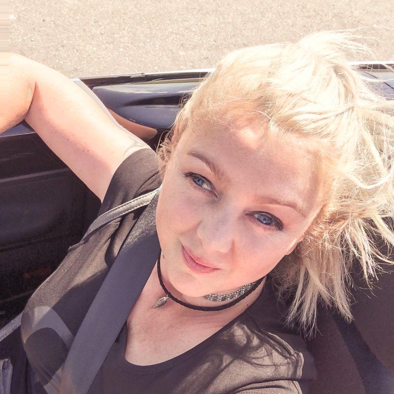 Selfie in de auto