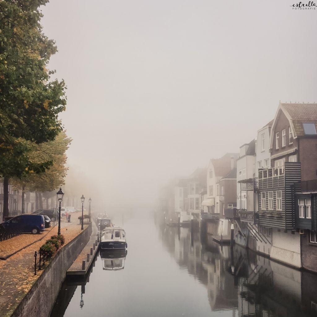 Mist in de Lingehaven