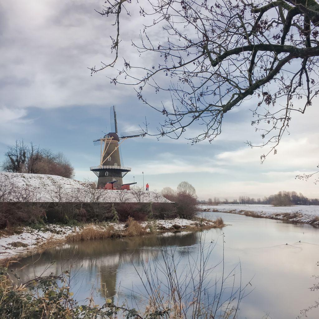 Winterlandschap in Gorinchem