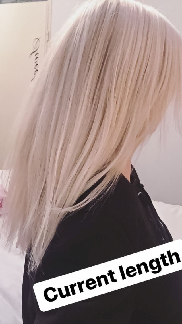 Mijn haar wordt al lang!