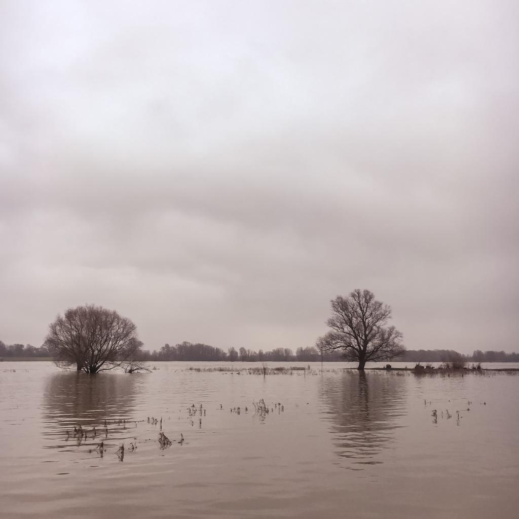 Hoog water, Munnikenland