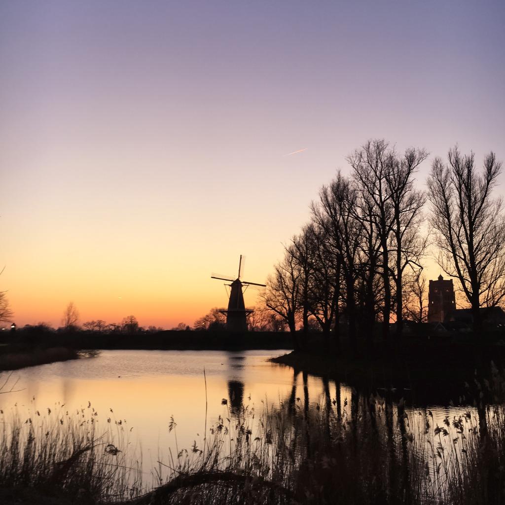 De molen in Woudrichem