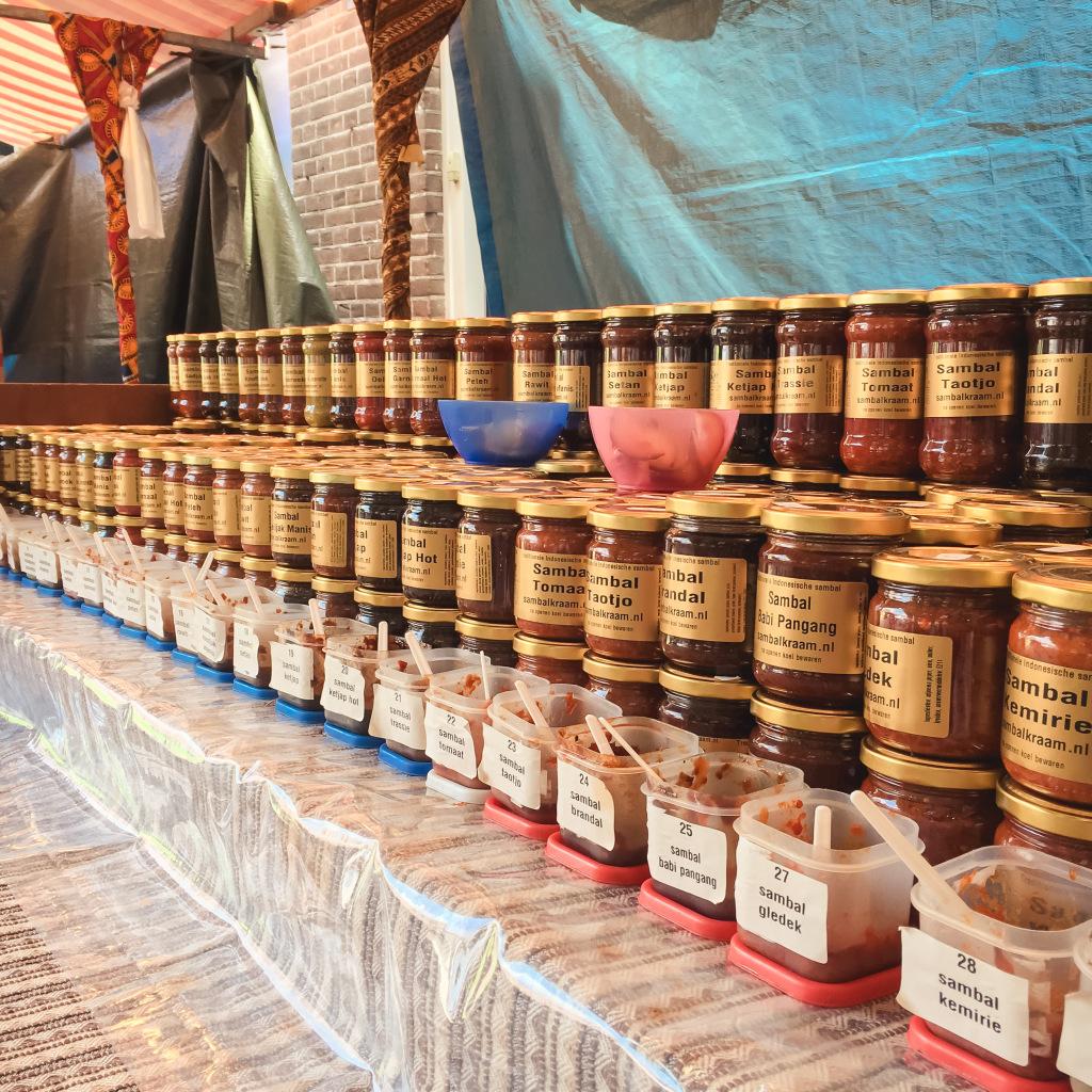 Heel veel soorten sambal