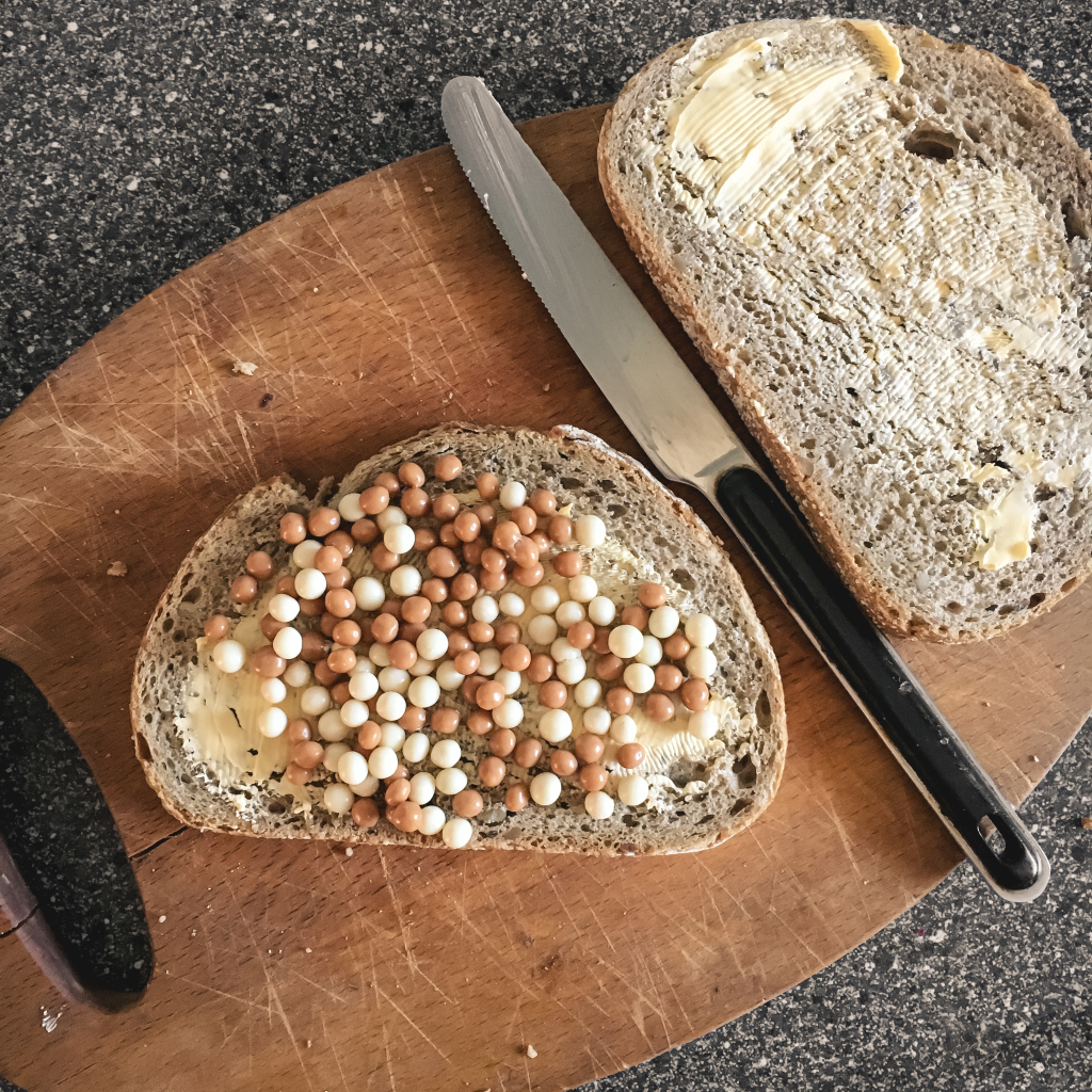 Brood met bolletjes