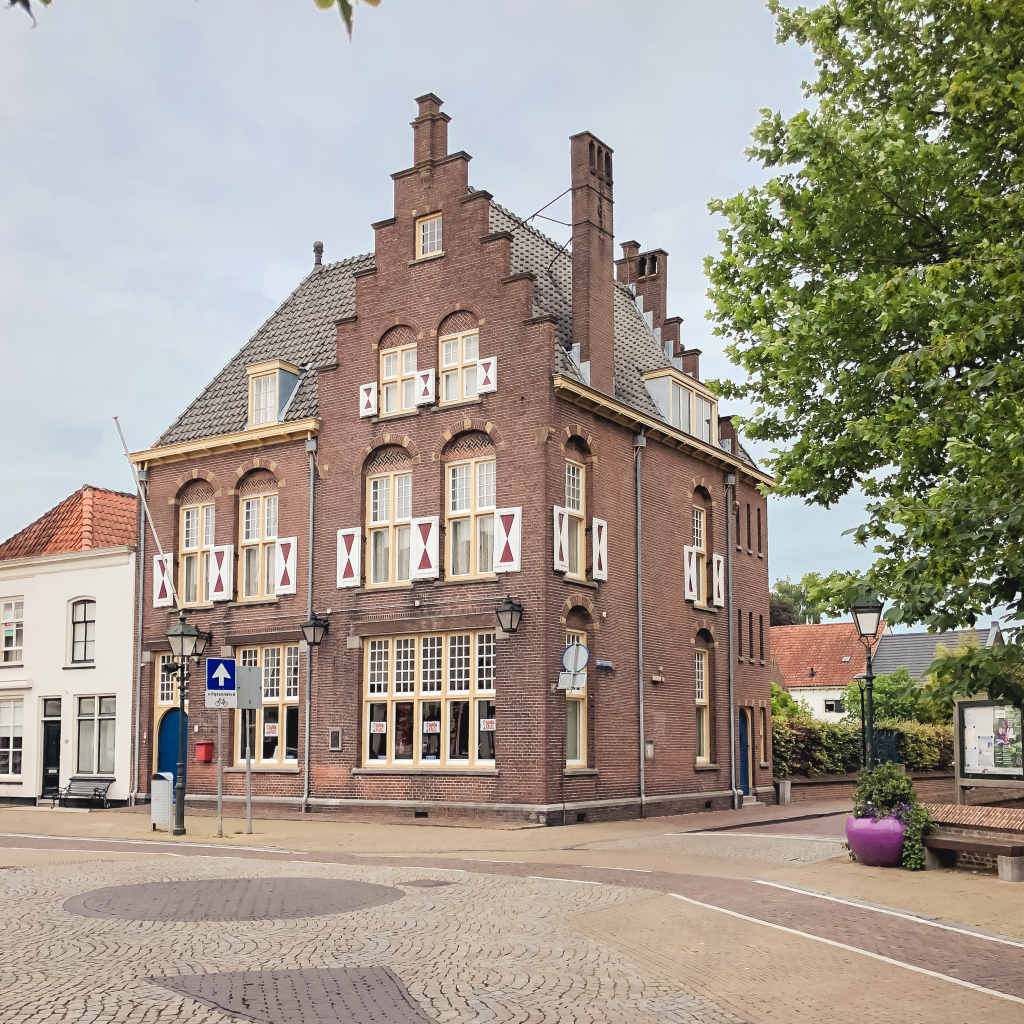 Mooi gebouw in Vianen