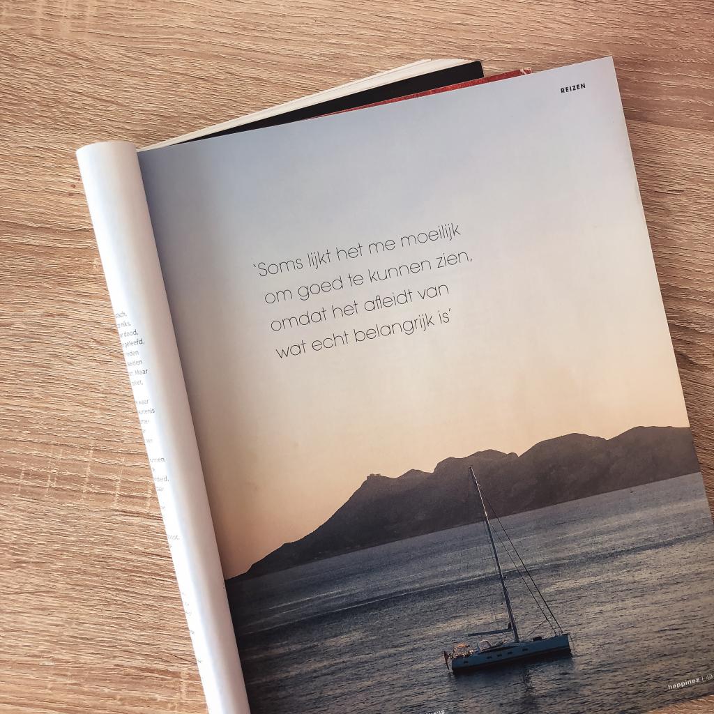 Citaat in een tijdschrift