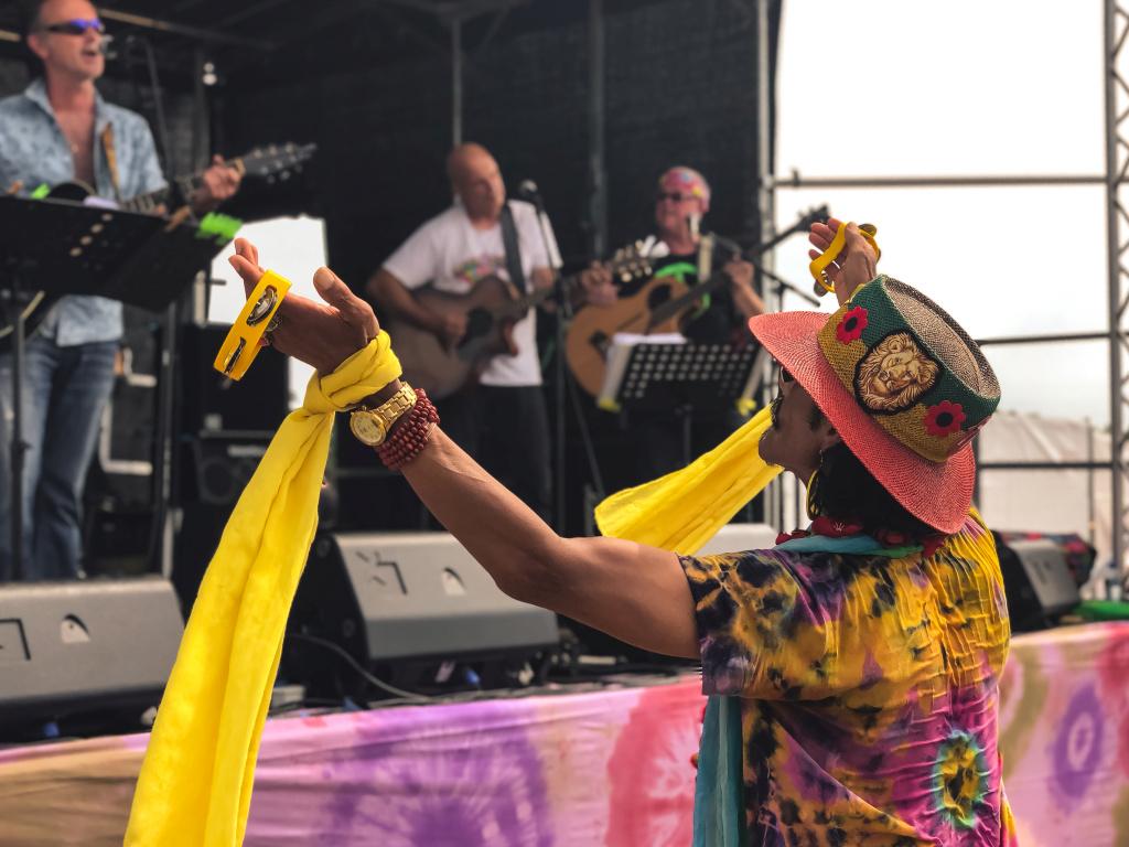 Swingen op het Hippiefestival