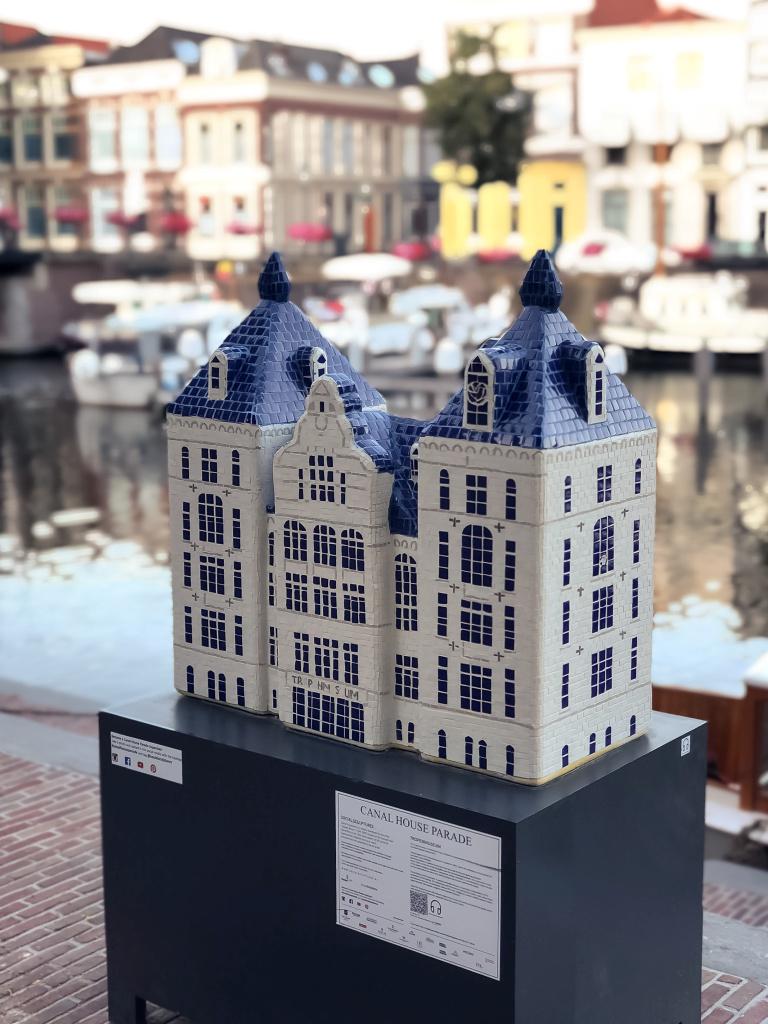 KLM huisje bij de Lingehaven