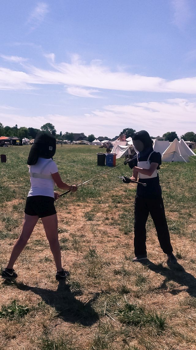 Workshop zwaardvechten