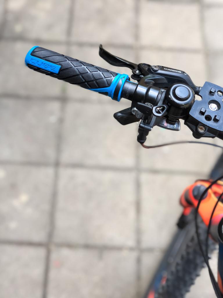 Nieuwe handgrepen voor m'n fiets