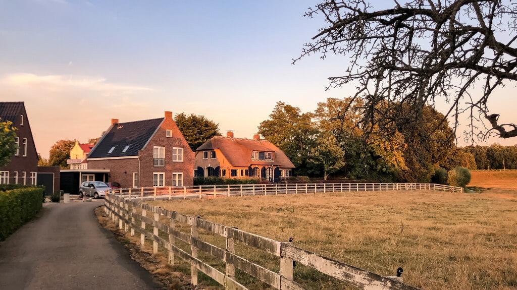 Fietsen in Oosterwijk