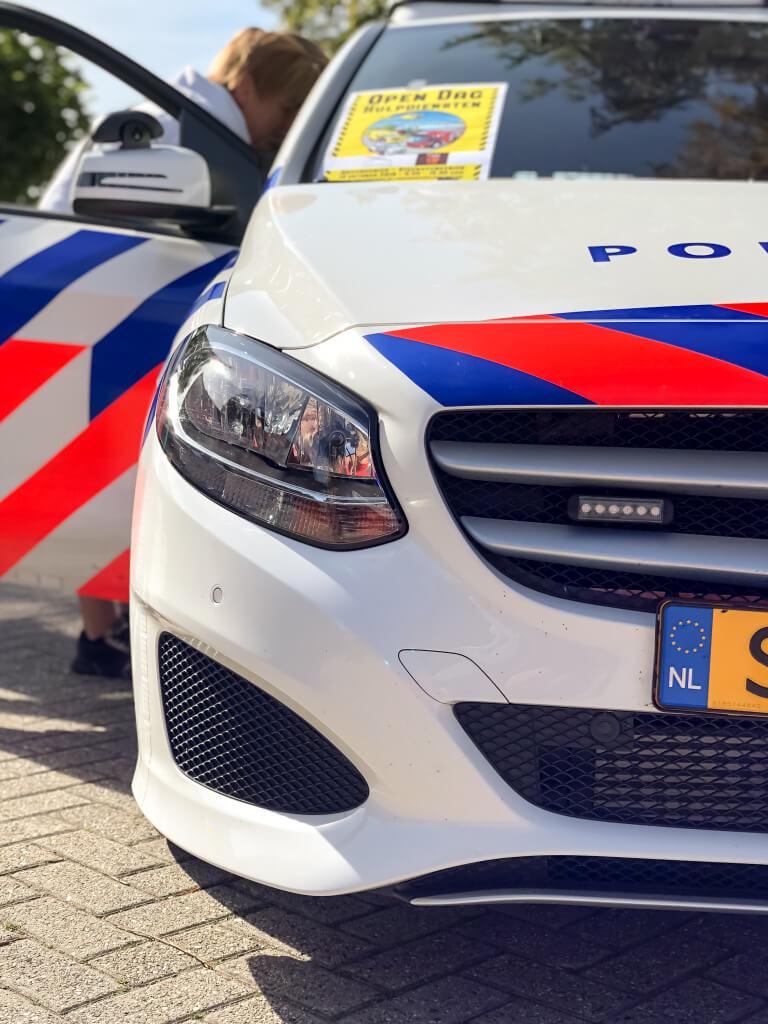 Mercedes politie-auto