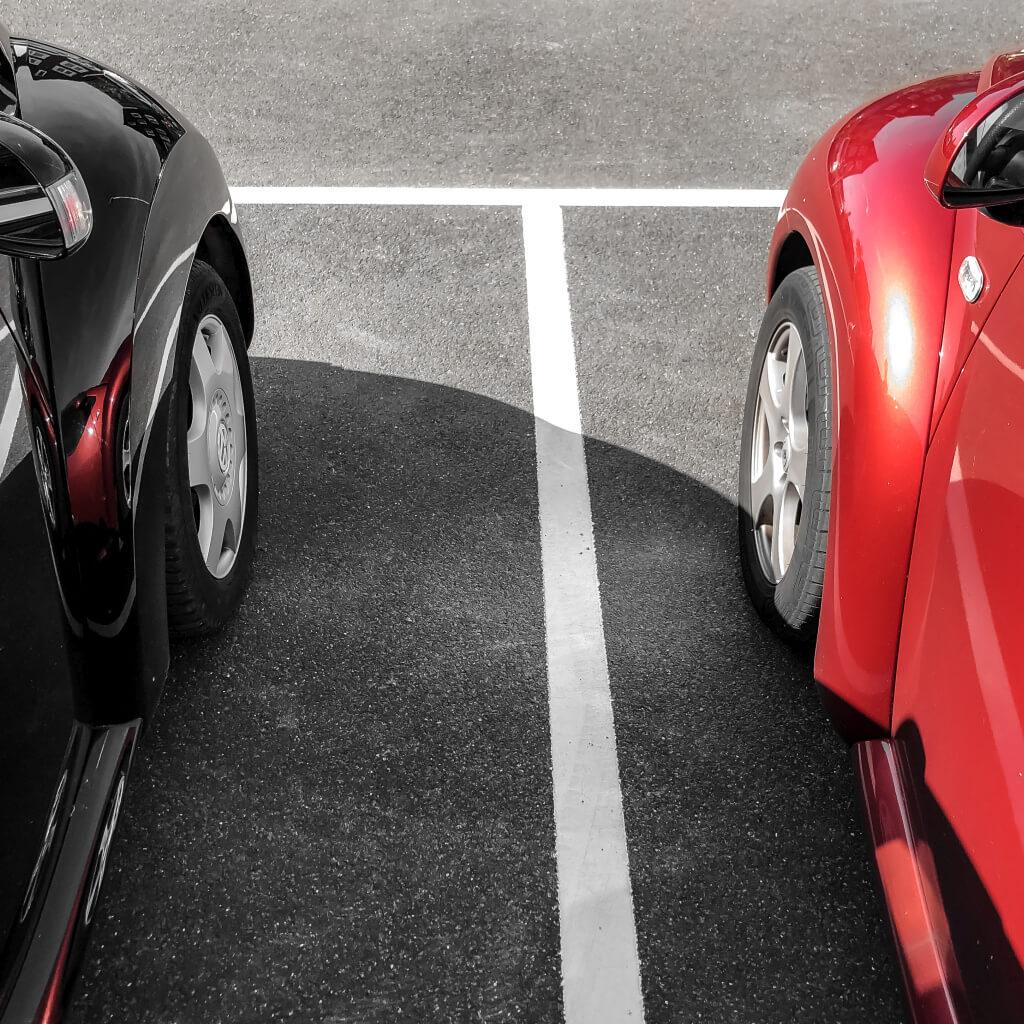 Twee VW Beetles