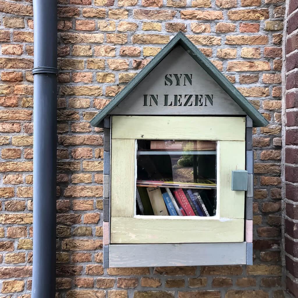 Mini bibliotheek in Nieuwpoort