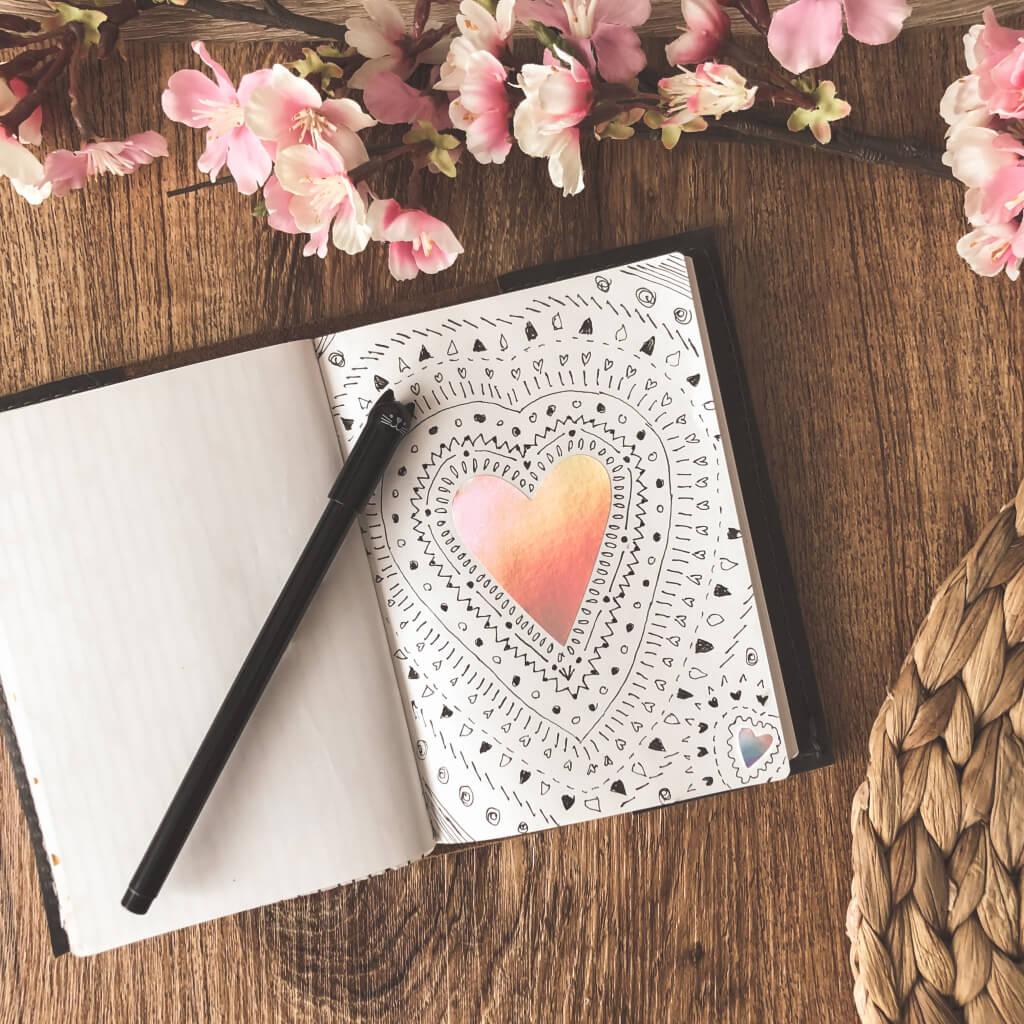 Een hart in mijn boekje