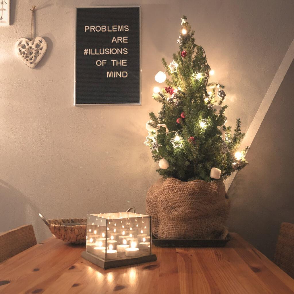 Mijn mini-kerstboom